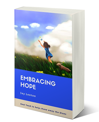 Embracing Hope book paperback copy mockup