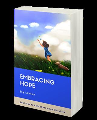 Embracing Hope book paperback copy mockup