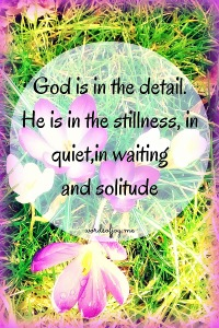 Shifts - God is in the detail