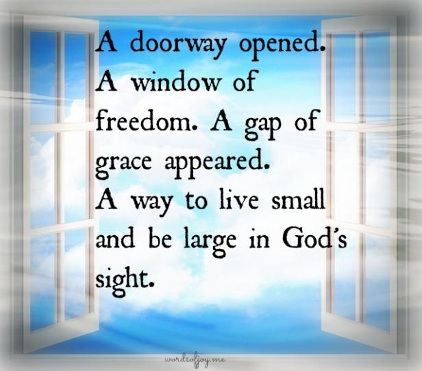 small - window of freedom WoJ