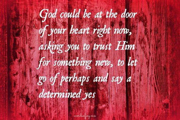 a deeper yes to God - WoJ