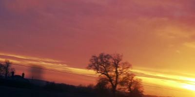 return - wonder - winter sunset - Advent (C)joylenton @wordsofjoy.me