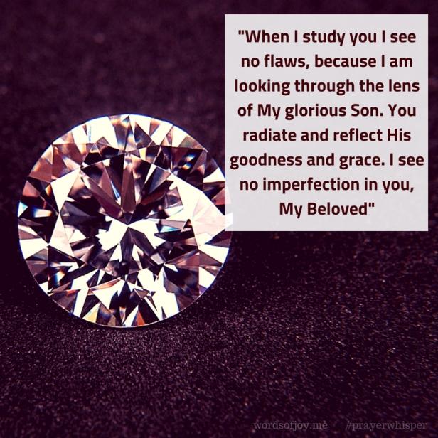 beautiful - no flaws quote excerpt @wordsofjoy.me