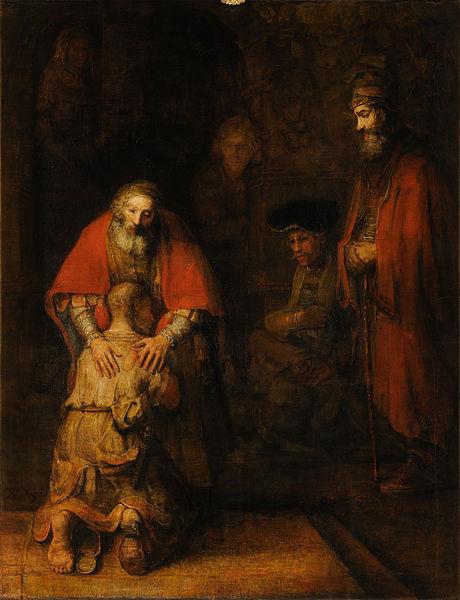 return - Return of the Prodigal Son by Rembrandt Harmensz van Rijn (C)wikipedia.org