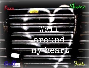 Pain - wall around my heart