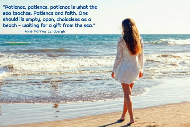 desire - waiting - patience - faith - sea quote by Anne Morrow Lindbergh @joylenton.com