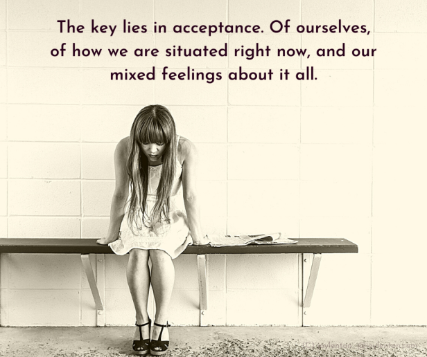 pain - The key lies in acceptance quote (C) joylenton @joylenton.com