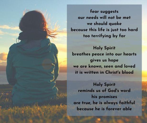 fear - fighting fear poem excerpt (C) joylenton @joylenton.com